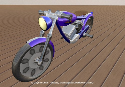 Lowrider Motorcycle 003