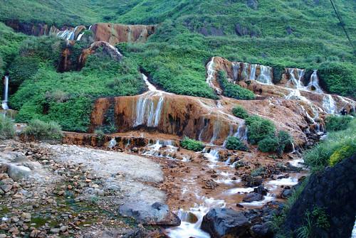 金瓜石-黃金瀑布
