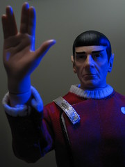 Captain Spock by Playmates Toys