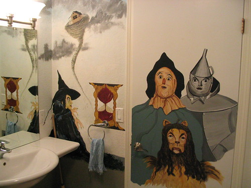 Wicked Witch, Scarecrow, Tin Man, Lion
