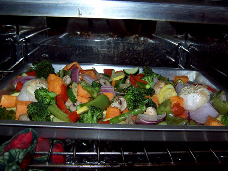 Grillt Veggies