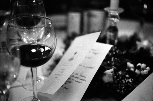 Il calice ed il menu