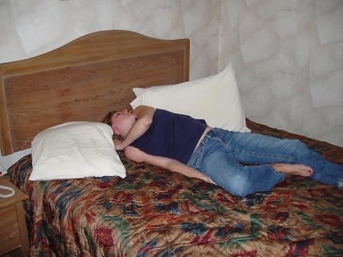 Strangest sleeping position #2