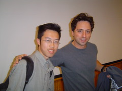 Me and Sergey Brin
