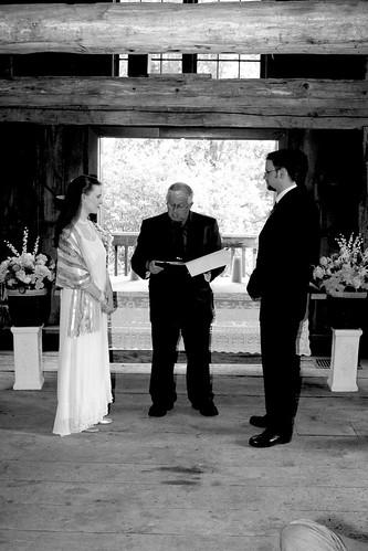 Anne, Don (officiant), & Dan