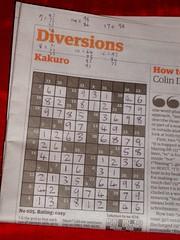 Guardian Kakuro 2005-10-17