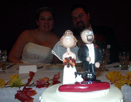 Wedding Cake Topper by BenSpark.