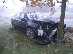 Car Crash - Stourbridge