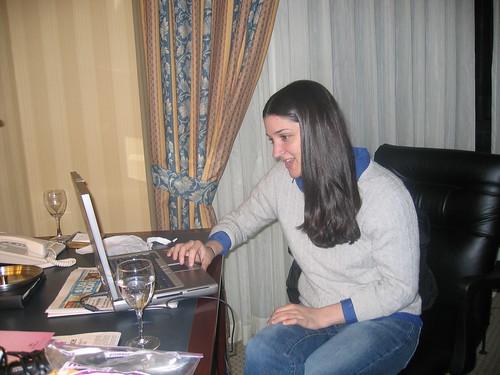 Lisa Barone Blogging!!!! - SES NY 07