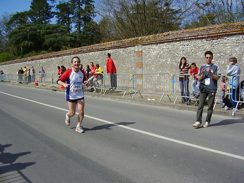 Marathon Cheverny, 200 metroren faltan