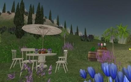 L'Ile Verte dans Second Life