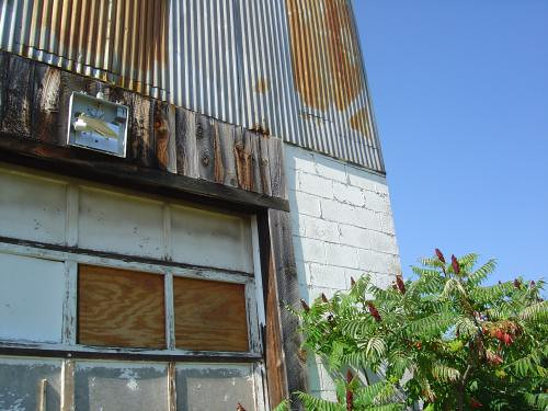 Corrugated rust