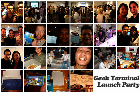 Geek Terminal Launch Party
