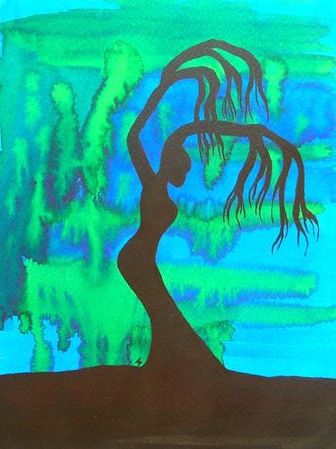 boom op blauw ~  jennifer eeuwijk  - © All rights reserved.