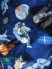 Space fabric with scale
