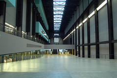 Turbine Hall of the Tate Modern, London