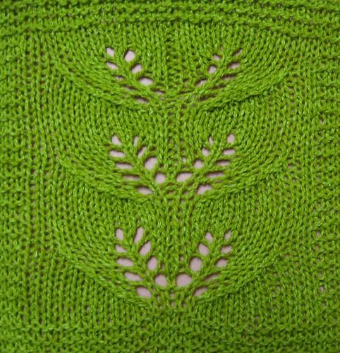 Twin Leaf Lace