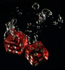 tossing the dice