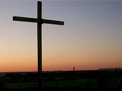 Cross at Night