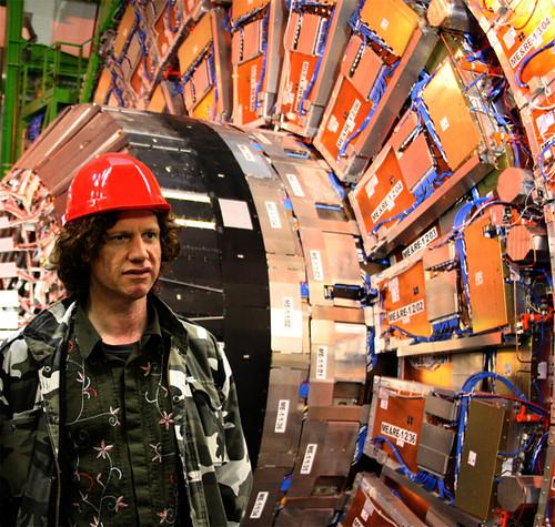 Chris Morris at CERN