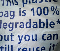 This bag will self desctruct in 18 months ..