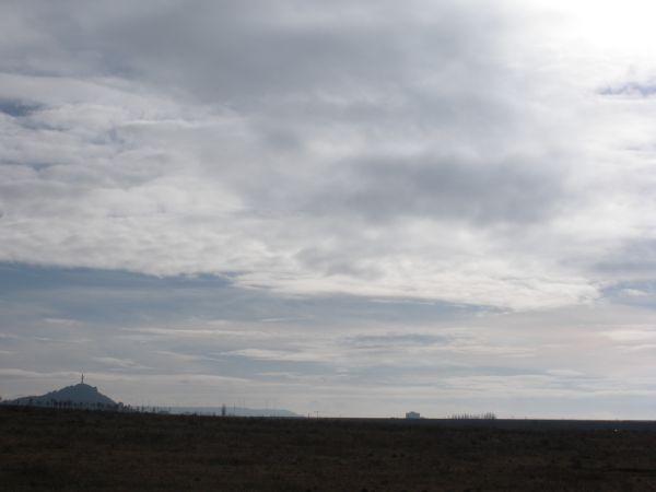 Crsito del Otero bajos las nubes