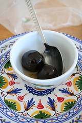 Preserved Walnuts, not olives!