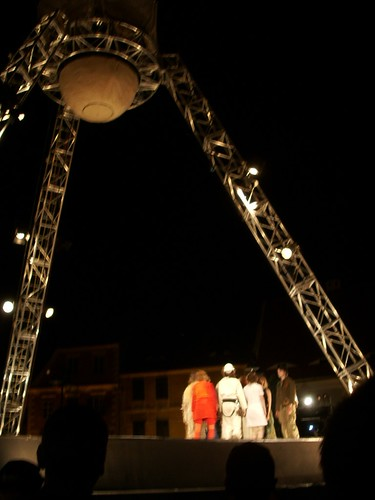 "outdoor theatre - ""Remember the Future"""