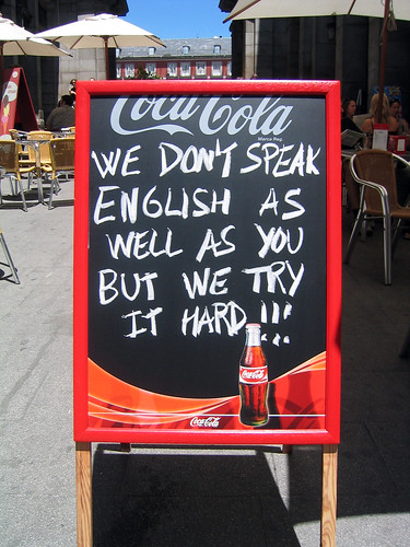 English sign by andreasmarx, on Flickr