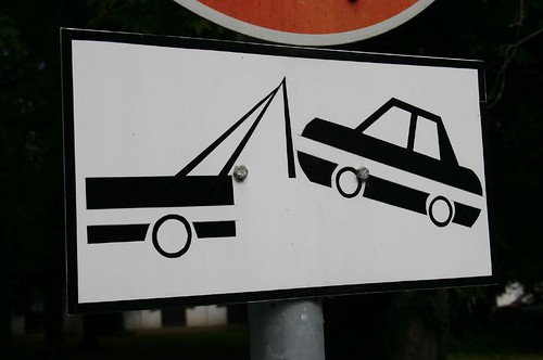 Street Sign IV: Don't park your UFO here