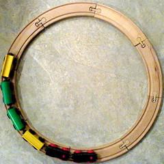 train circle