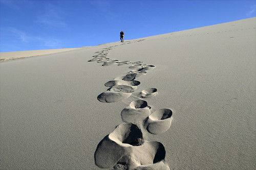 Josh and Footprints