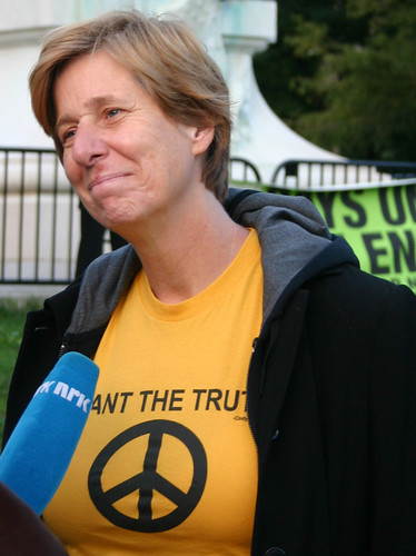 Cindy Sheehan by dbking.