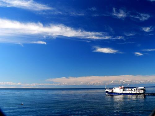 Listvyanka, Lake Baikal by chrisflyer.
