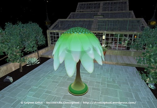FlowerTree Light Lawn Ornament 010