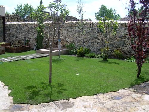 jardin rustico