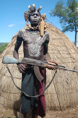 mursi warrior