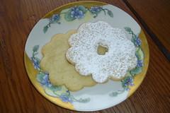 Lime Flower Cookies