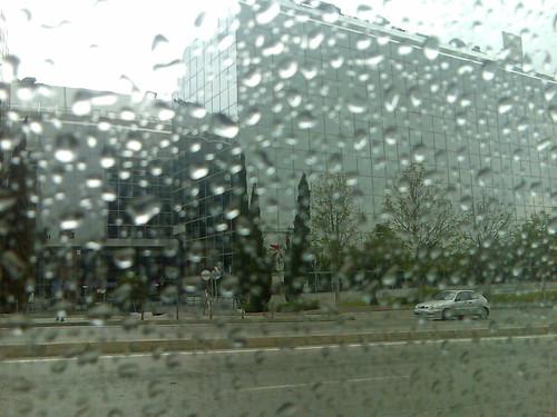Raining..