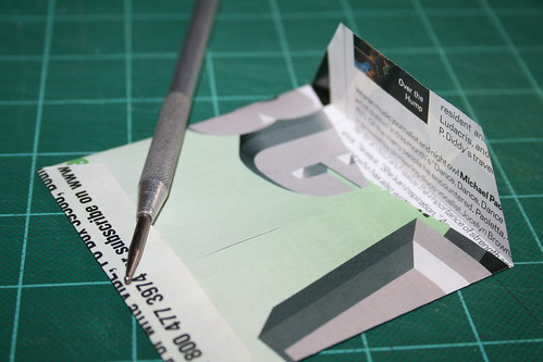 Handmade Recycled Envelope