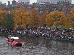 Duck boats for the World Series Parade