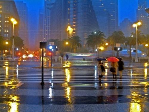 San Francisco Rain 2