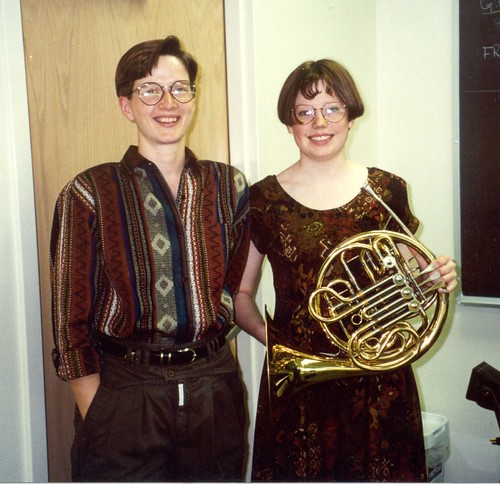 Freshman horn competition