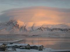 Gorgeous sunrise in Iceland