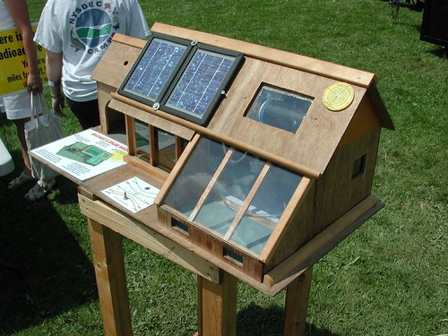 solar house model on Flickr