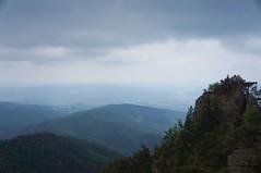 Vedere spre Valcea de pe Coltul lui Damaschin