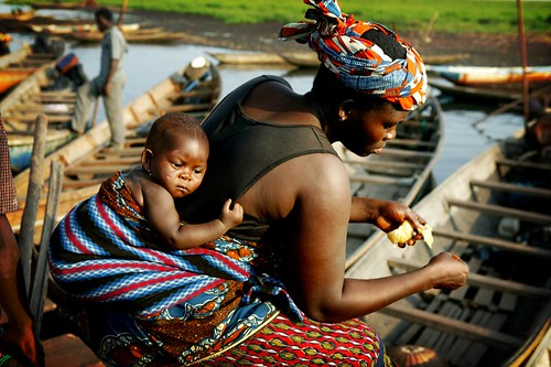 mother and child, phitar, Flickr