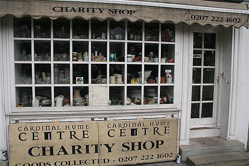 Cardinal Humes Charity Shop by Canis Major