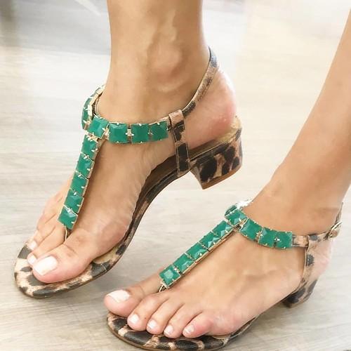 Sandálias fresquinhas e poderosas