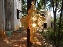 The Legend Kuchipudi Dancer Dr. Vyjayanthi Kashi's Shambhavi School of Dance Outside Photography By Chinmaya M.Rao  (255)